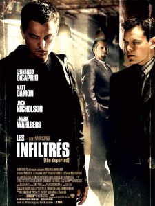 """Affiche du film """"Les Infiltrés"""""""